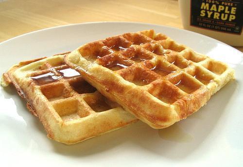 Waffle recept
