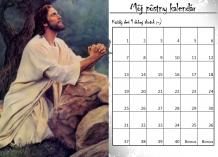 Pôstny kalendár